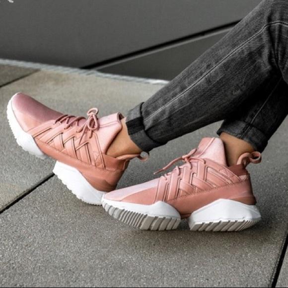 aad9f3ddf0d Puma Muse Echo Satin EP Women Peach Beige Sneaker